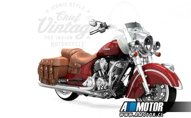 INDIAN CHIEF VINTAGE  2017