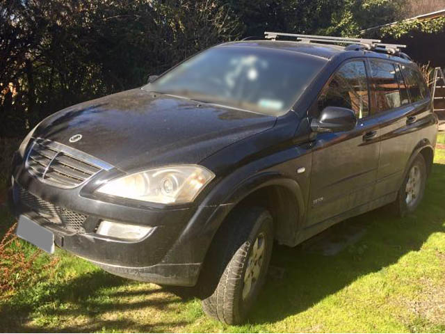 SSANGYONG KYRON  gl 2009