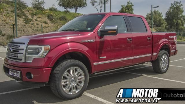 FORD F-150  PLATINUM 4X4 2013