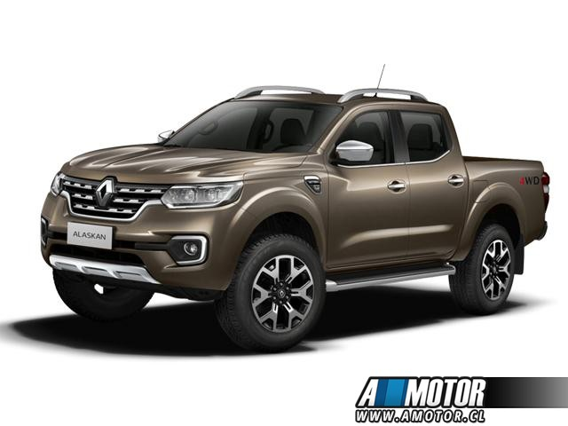 RENAULT ALASKAN INTENS 2,3 D/C 4X4 MT BIKE PACK 2018