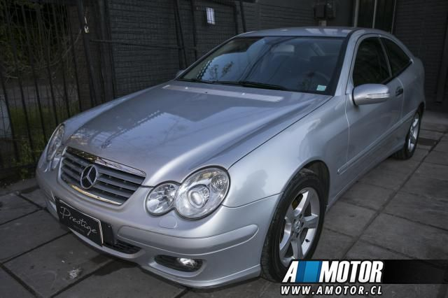 MERCEDES BENZ C 200  KOMPRESSOR 2007
