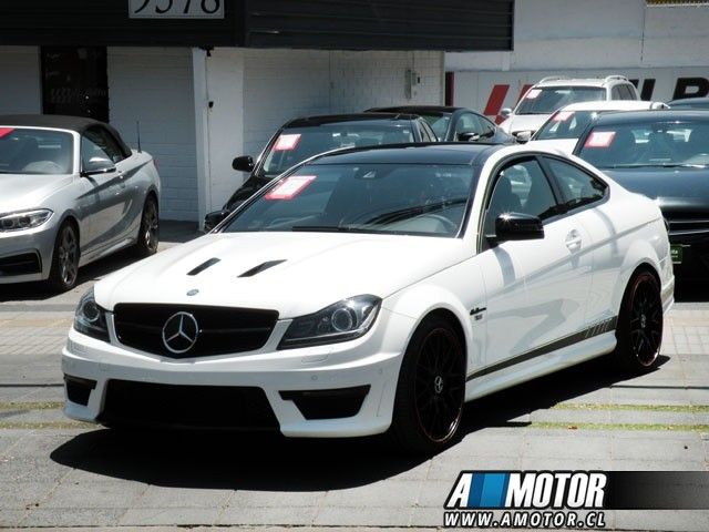 MERCEDES BENZ C 63  6.2 AMG COUPE 2014