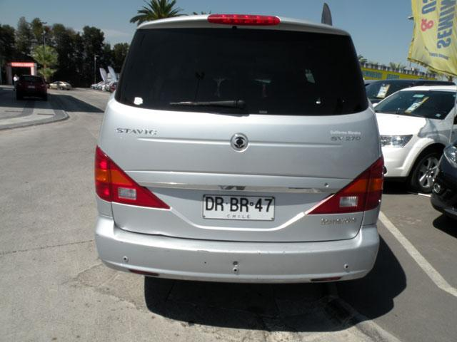 SSANGYONG STAVIC  STAVIC 2.7 AT 2012