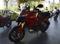DUCATI MULTISTRADA 1200S RED  2012