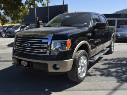 FORD F-150  5.0 DOUBLE CAB LARIAT 4WD 2013