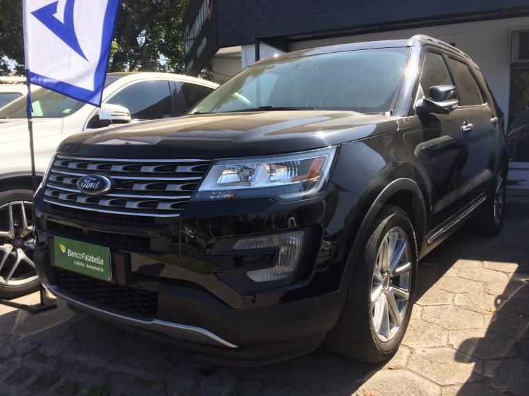 Station Wagon FORD EXPLORER  ECOBOOST LIMITED 4X2 2017 - Autos Usados