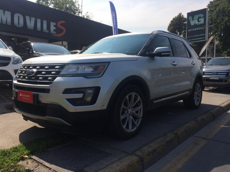 Station Wagon FORD EXPLORER  LIMITED XLT 3.5 4WD 2016 - Autos Usados