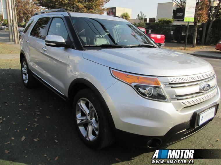 Station Wagon FORD EXPLORER  3.5 LIMITED 4WD IMPECABLE 2013 - Autos Usados