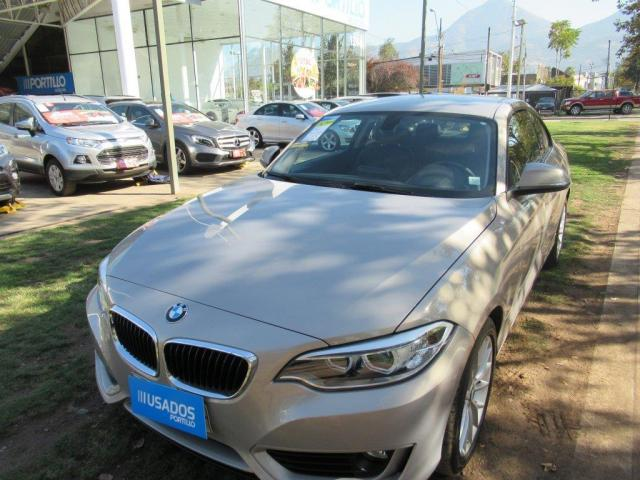 BMW 220 I COUPE 2.0 AUT 2015