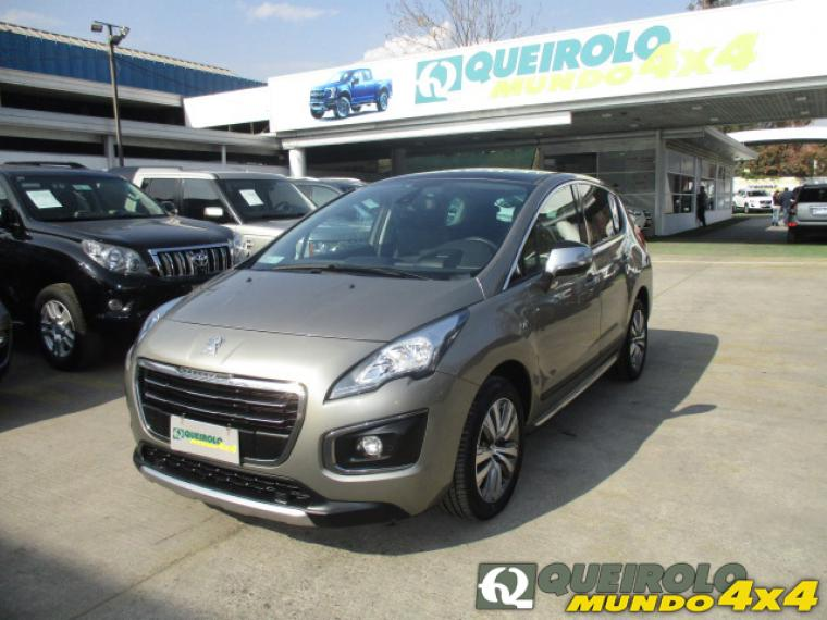 Station Wagon PEUGEOT 3008 ALLURE BLUE HDI 120 1.6 2017 - Autos Usados