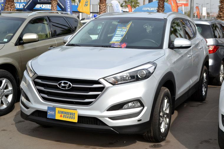 Jeep/SUV HYUNDAI TUCSON  TUCSON TL GL ADVANCE 2.0 AT 2017 - Autos Usados