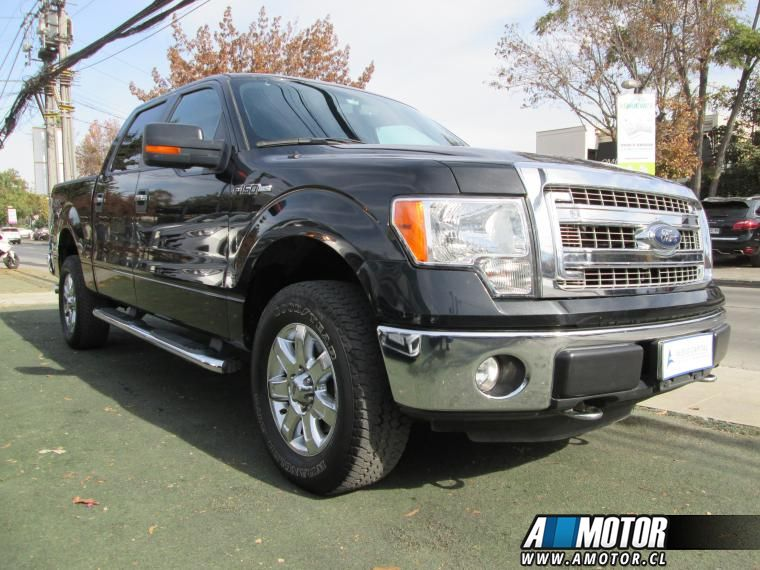 FORD F-150  5.0 DOUBLE CAB XLT 4WD 2015