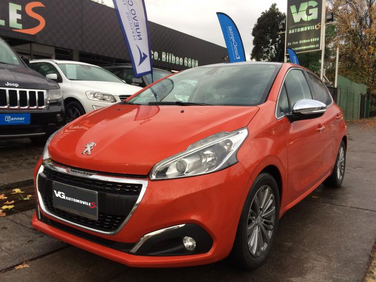 Automóvil PEUGEOT 208 1.6 HDI 92 HPAUTO ALLURE PACK GREEN 2016 - Autos Usados