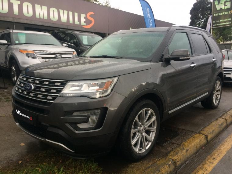 Station Wagon FORD EXPLORER  LIMITED ECOBOOST 4X2 2017 - Autos Usados