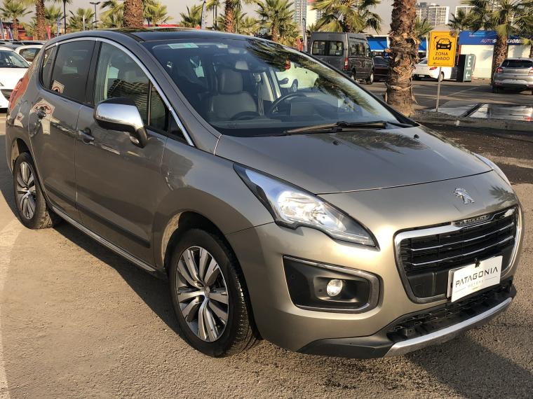 Station Wagon PEUGEOT 3008 ALLURE HDI 1.6 MT 2016 - Autos Usados