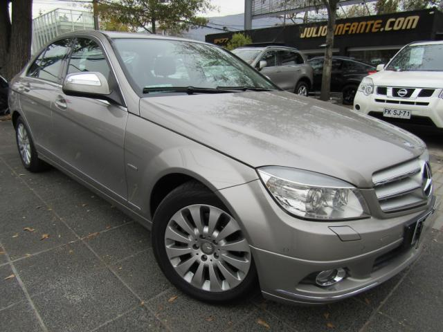 MERCEDES BENZ C 200  Kompressor BE Elegance cuero  2009