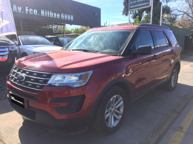 FORD EXPLORER  ECOBOOST- 4X2 AUTOMATICA 2017