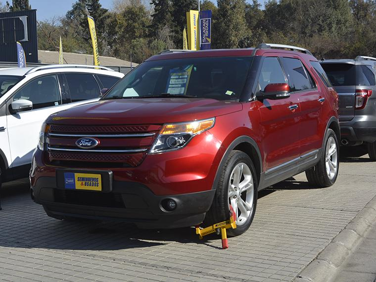 FORD EXPLORER EXPLORER LTD 4X4 3.5 AUT 2016