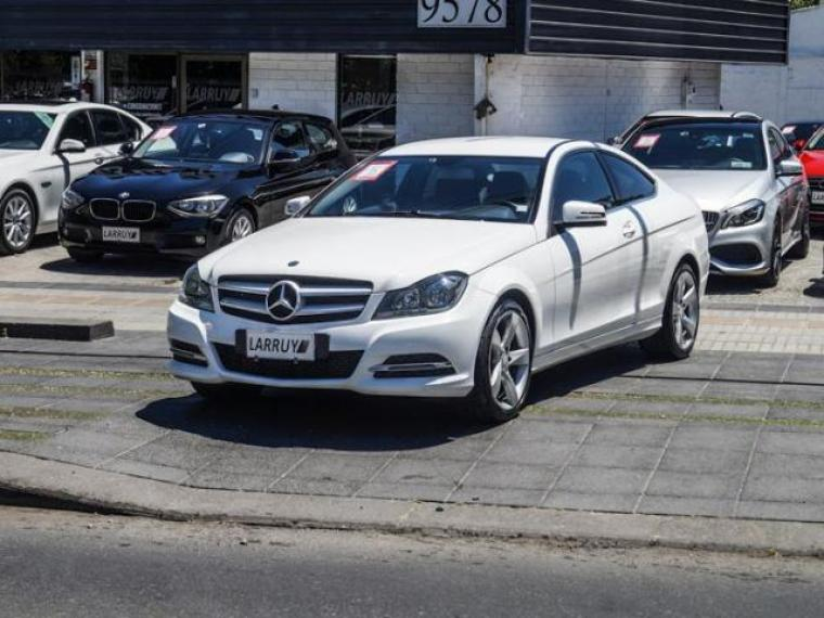 MERCEDES-BENZ C 180  BLUEEFFICIENCY COUPE AT 2013
