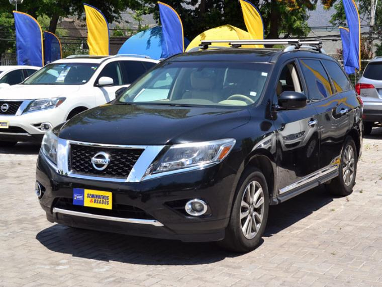 NISSAN PATHFINDER PATHFINDER ADVANCE 4x4 3.5 AUT 2015