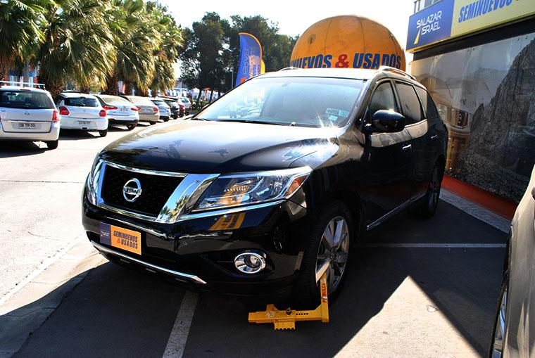 NISSAN PATHFINDER PATHFINDER ADVANCE 3.5 CVT 2015