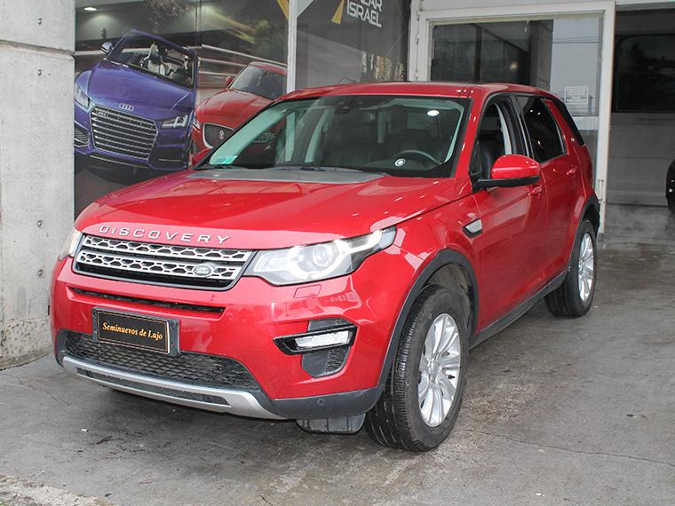 LAND ROVER DISCOVERY  SPORT 4X4 2.0 AUT 2018