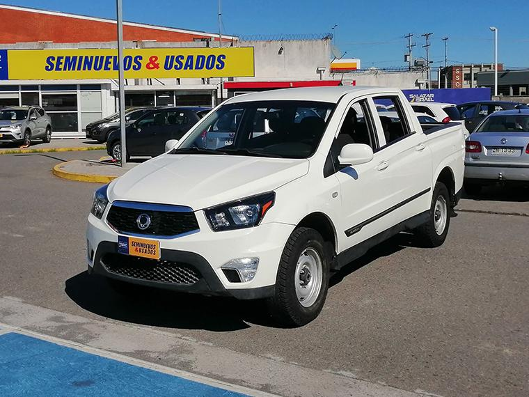 SSANGYONG ACTYON NEW ACTYON SPORT 2.2 MT 4X4 SEMI FULL 2017