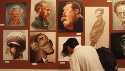 """Exposición en el Centro Cultural San Marcos repasa lo mejor del trabajo del ilustrador peruano """"Mechaín"""""""