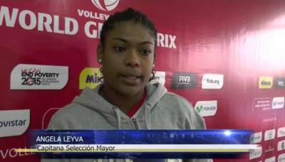 Voley: Ángela Leyva, capitana del seleccionado mayor a los 17 años