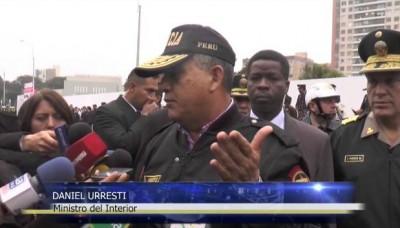 Ministro del Interior Daniel Urresti respalda al nuevo gabinete