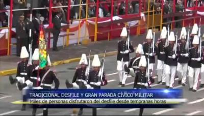 Fiestas Patrias: Así fue el Desfile y Gran Parada Cívico Militar