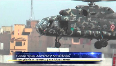 La Fuerza Aérea del Perú – FAP celebró su 73 aniversario
