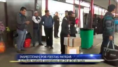 Fiestas Patrias: Superintendencia de Transporte realiza inspecciones en Terminal de Fiori