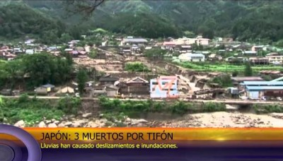 En Japón, tifón Neoguri deja 3 muertos y 50 heridos