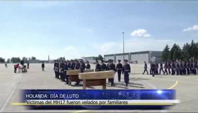 Holanda de Luto: víctimas del vuelo MH17 fueron veladas