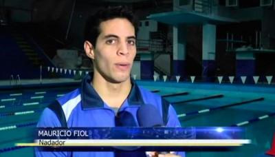 Nadador Mauricio Fiol se prepara para clasificar a Río 2016