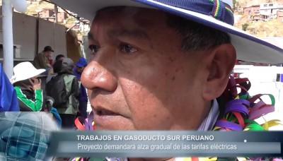 Miles de personas se beneficiarán con el Gasoducto Sur Peruano
