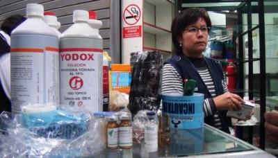 Decomisan más de media tonelada de medicamentos en el Cercado de Lima