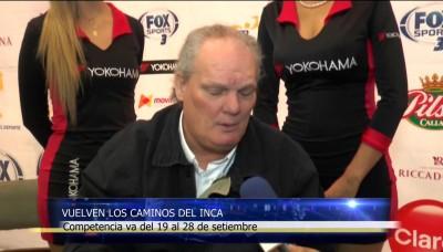 """Competencia automovilística """"Caminos del Inca"""" arranca este 19 de setiembre"""