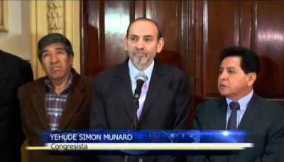 Yehude Simon se une a la bancada de Perú Posible