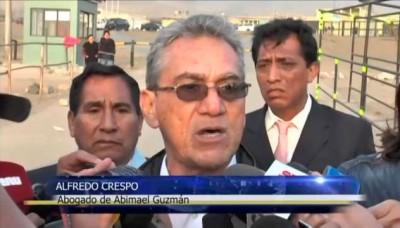Abogado de Abimael Guzmán abandona el penal de Piedras Gordas