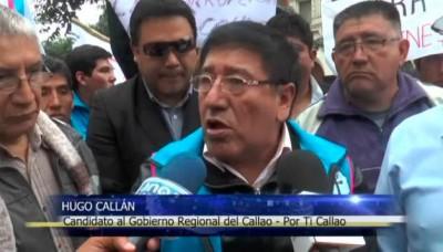 """Agrupación """"Chim Pum Callao"""" protestó ante el Jurado Nacional de Elecciones"""