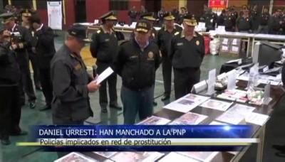 """Daniel Urresti: """"Policías implicados en red de prostitución han manchado a la Policía Nacional del Perú"""""""