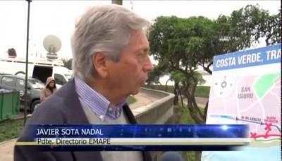 Desvían tránsito en Costa Verde por el inicio de construcciones en tercer carril
