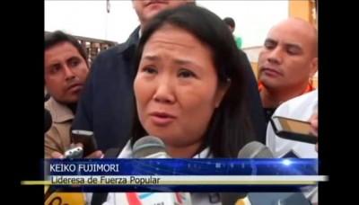 Keiko Fujimori visitó Trujillo junto a los candidatos de su partido
