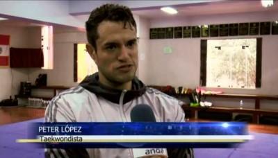 Peter López anuncia su retiro y anhela ser entrenador de la selección peruana de taekwondo
