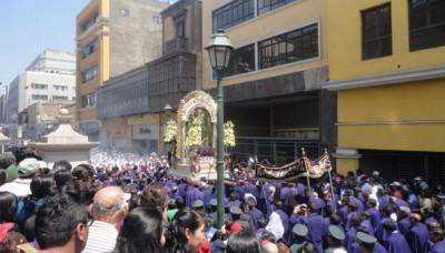 SAMU atendió a 36 personas durante procesión del Señor de los Milagros