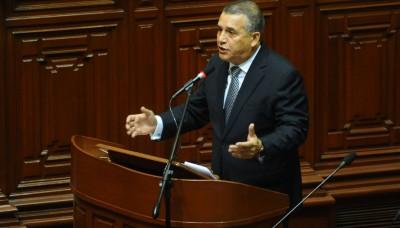 Más de 1400 bandas fueron desarticuladas en los primeros tres meses de Daniel Urresti como Ministro