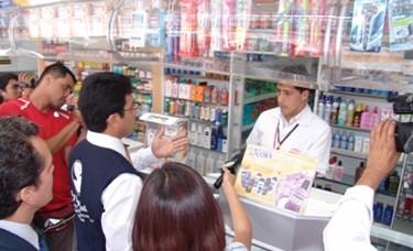 Se inicia empadronamiento de establecimientos farmacéuticos en todo el Perú