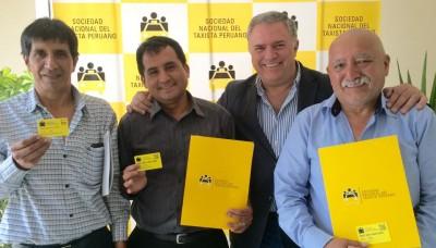 Sociedad Nacional del Taxista Peruano nace para educar al taxista